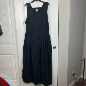 Caslon black maxi dress